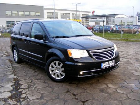 PONTI, samochody z USA, Chrysler Town&Country