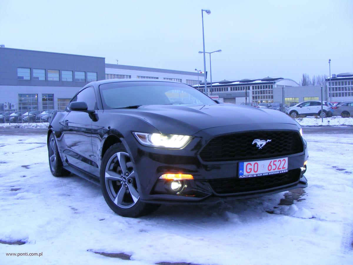 PONTI auta z USA, ford mustang 2016 ecoboost