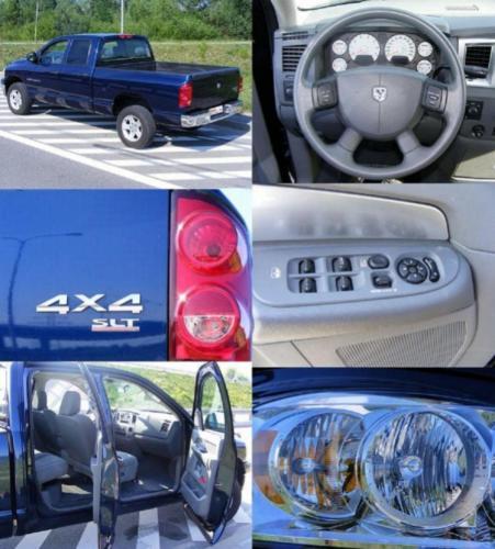 Dodge RAM 2007 4x4 SLT QUAD CAB mozaika
