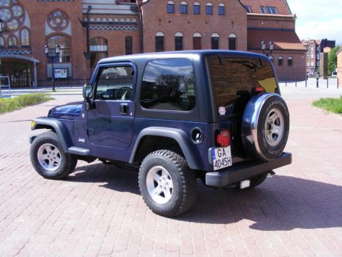 Jeep Wrangler 2004 bok lewy tyl