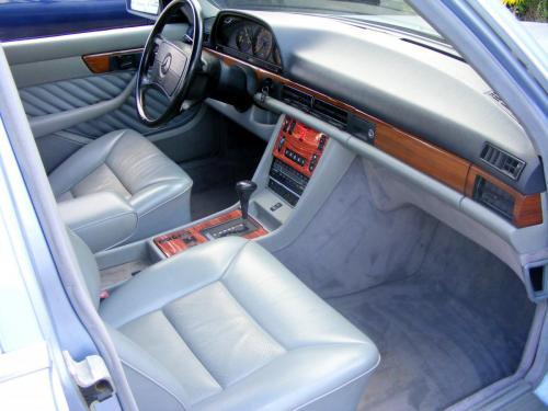 Mercedes 350 SDL 1991 (13)