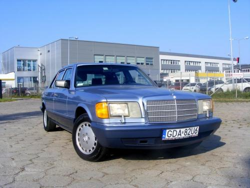 Mercedes 350 SDL 1991 (3)