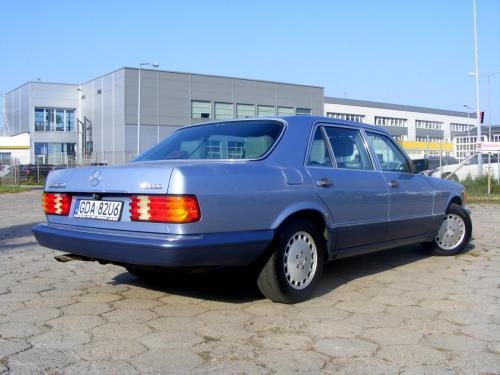 Mercedes 350 SDL 1991 (5)