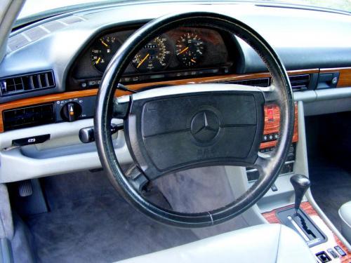Mercedes 350 SDL 1991 (9)